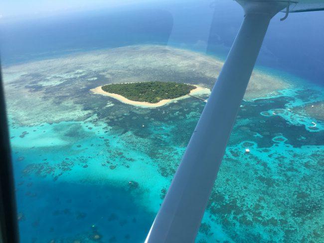 空から見るグリーン島