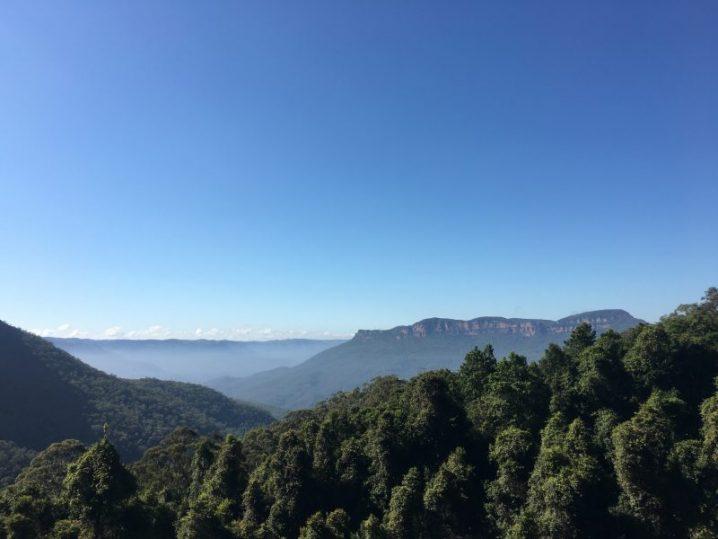 ブルーマウンテン国立公園