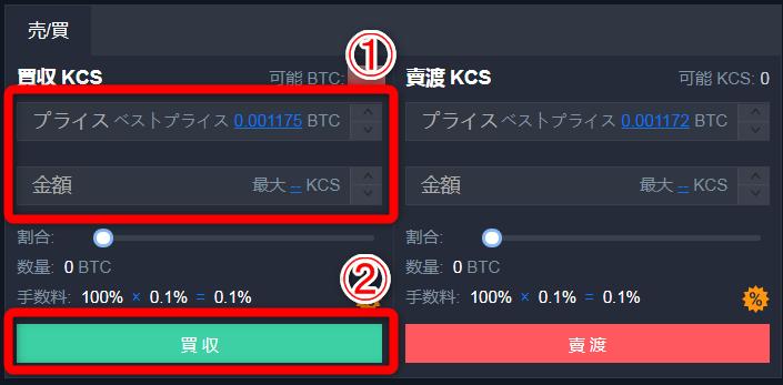 KCSの購入