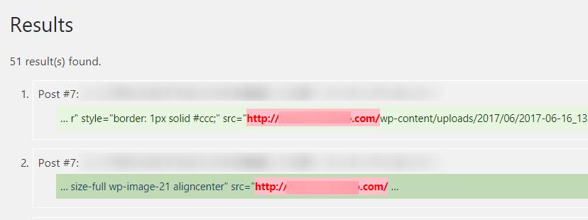URLの置換