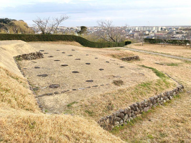 横須賀城跡の天守台