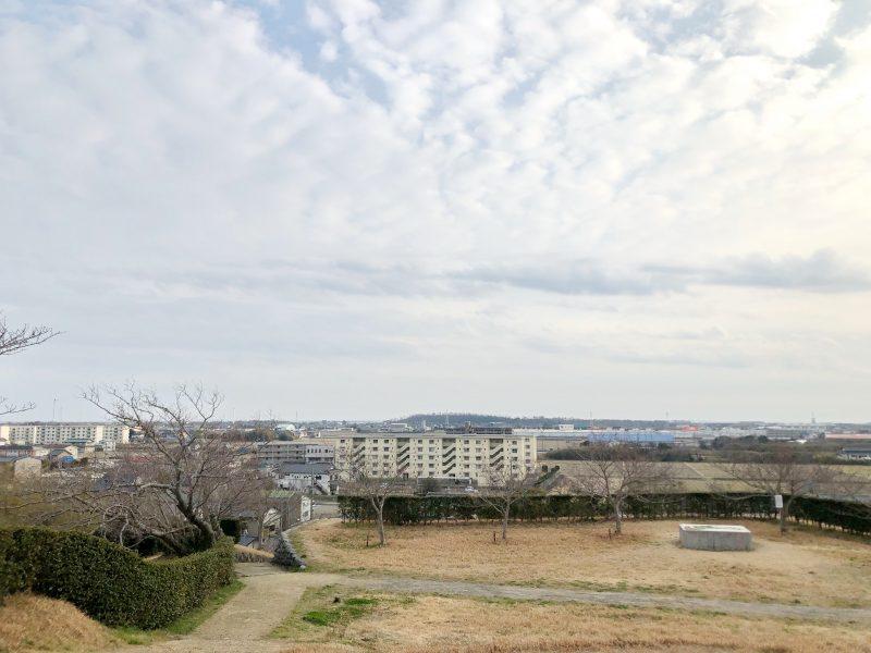 横須賀城跡から見る海