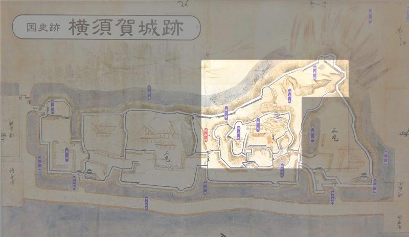 横須賀城跡保存エリア