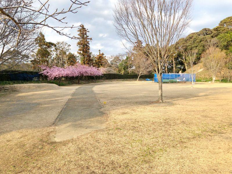 横須賀城の北の丸跡