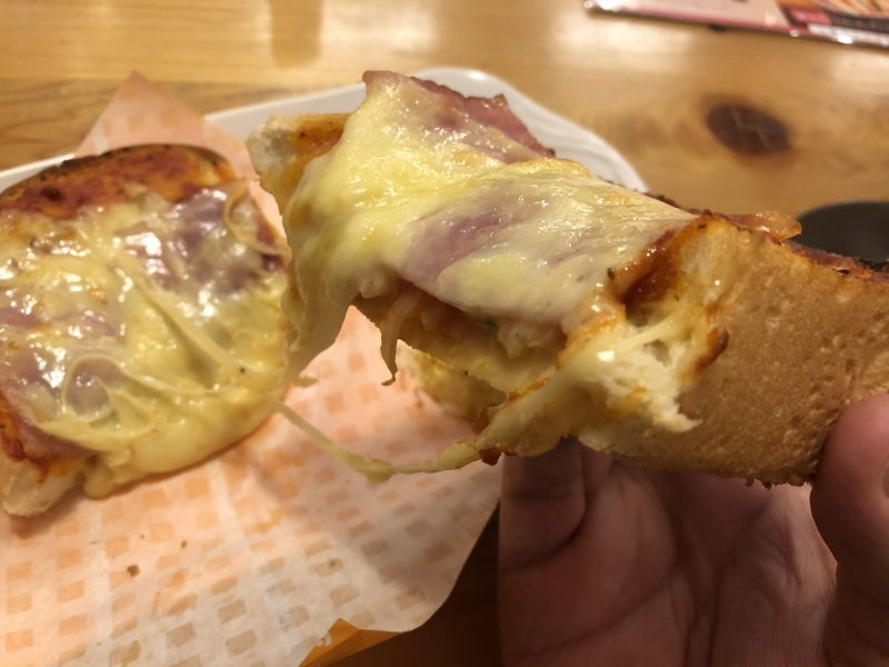 コメダの厚切りピザトースト