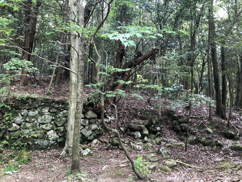 妻木城士屋敷跡