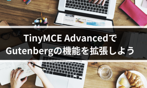 TinyMCE AdvancedでGutenbergの機能を拡張しよう