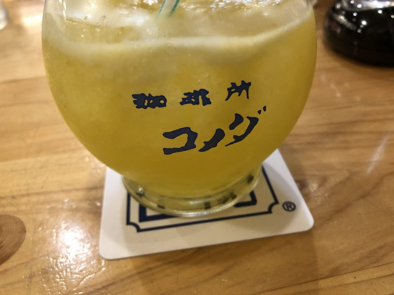 コメダ珈琲のサマージュース