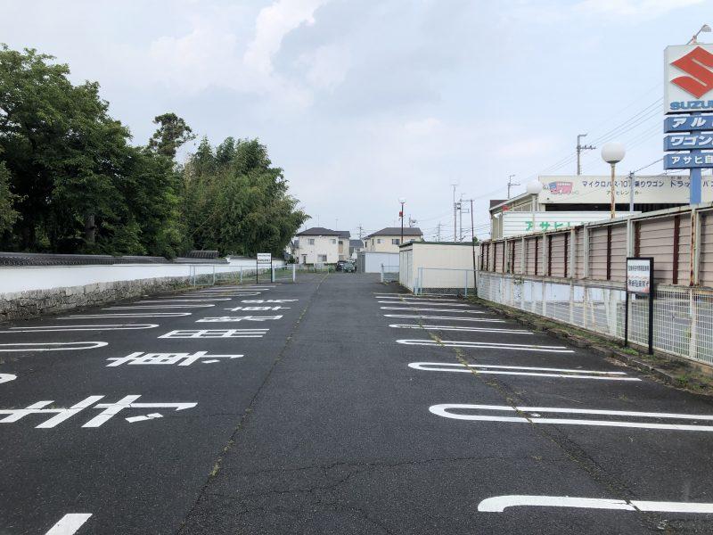 聖衆来迎寺の駐車場