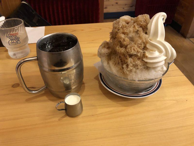 コメダ珈琲のかき氷