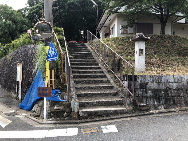 小栗栖城(小栗栖八幡宮)