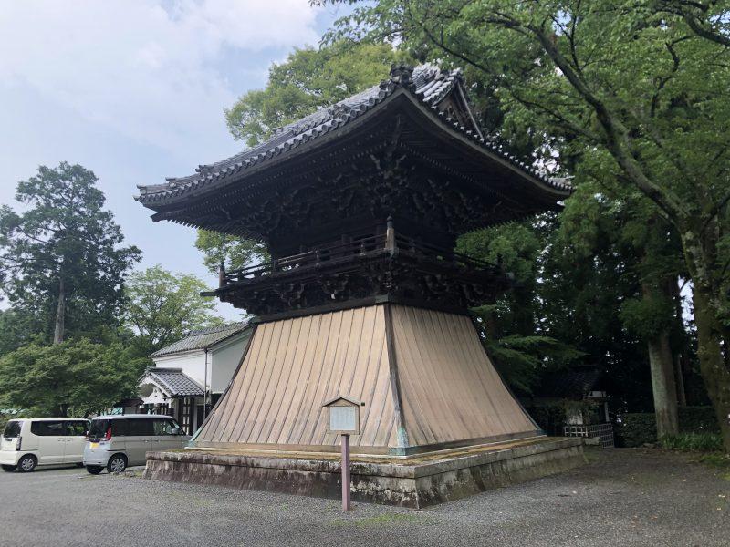 西教寺の鐘楼堂