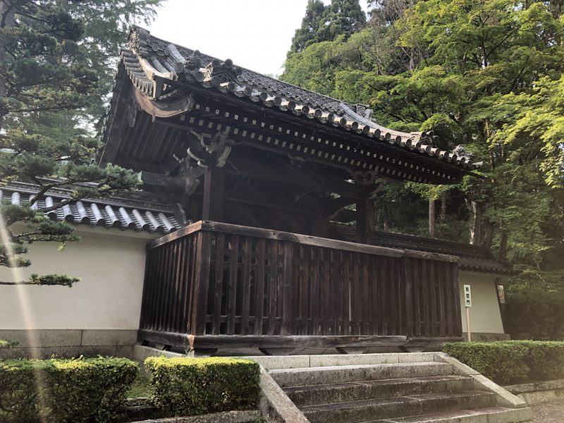 西教寺勅使門