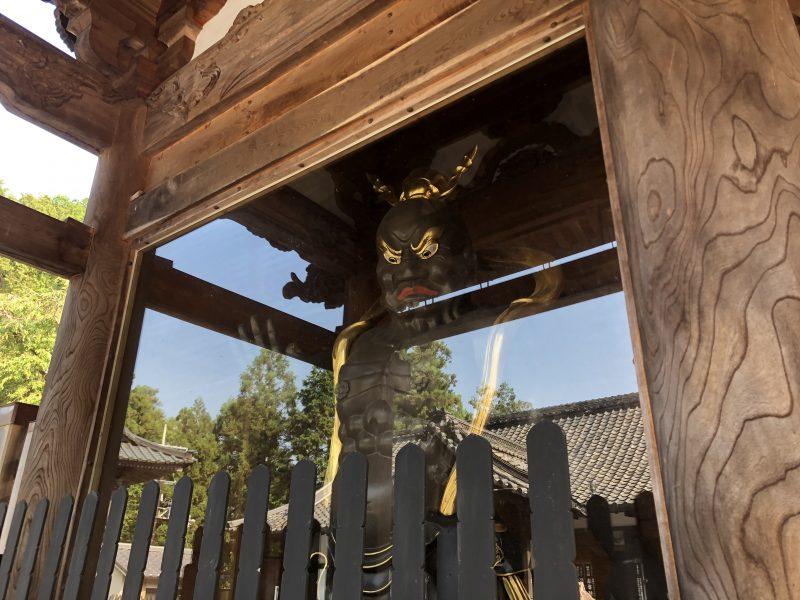 本圀寺・三門の仁王像