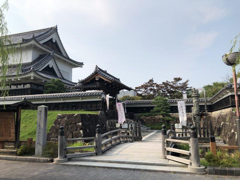 勝竜寺城本丸入口