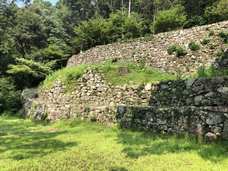 伝羽柴秀吉邸跡の石垣
