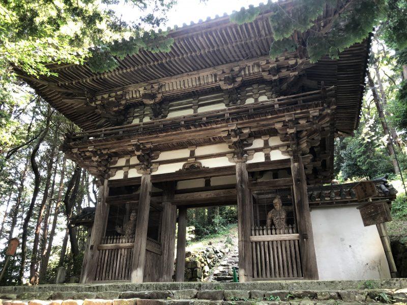摠見寺の二王門