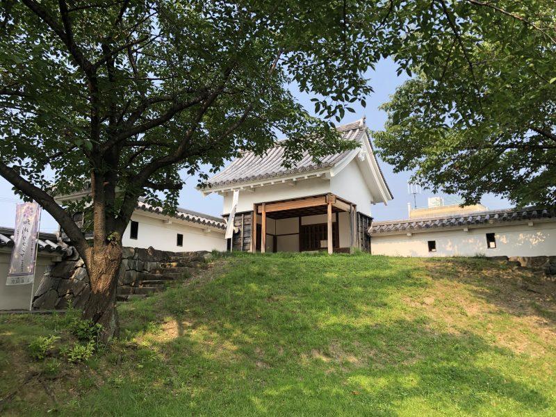 勝竜寺城本丸・東側の隅櫓