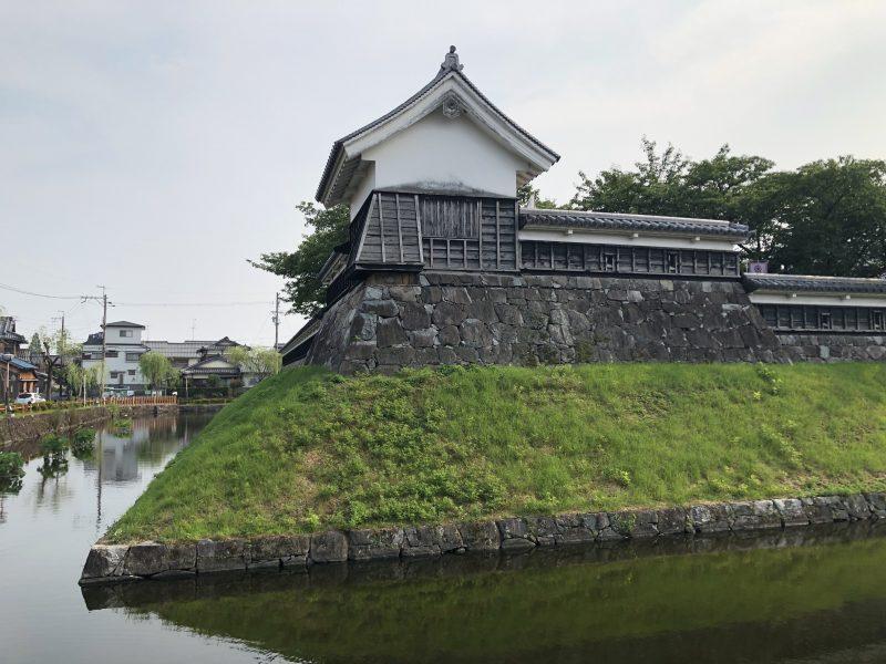勝竜寺城本丸の隅櫓