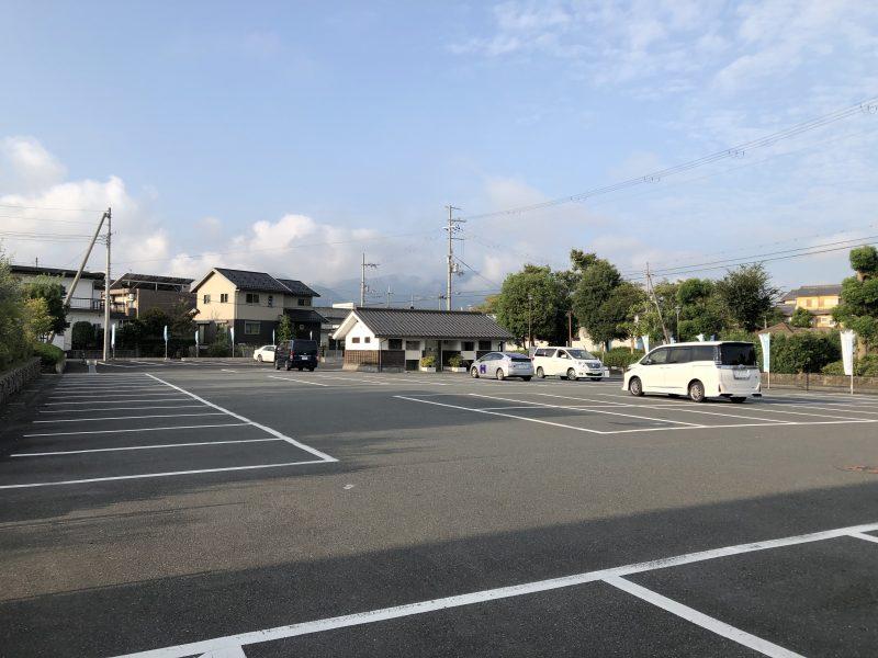福知山城公園駐車場