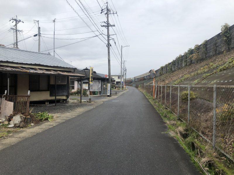鶴ヶ城周辺の道路