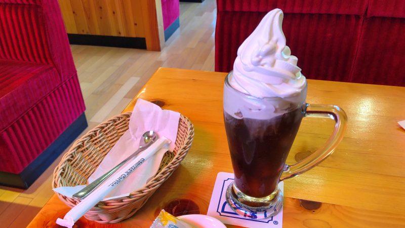 コメダ珈琲のクリームコーヒー
