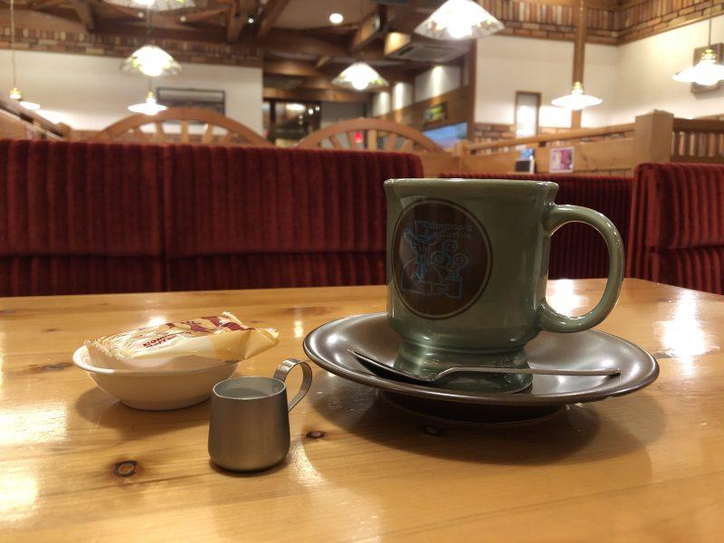 コメダ珈琲のアメリカンコーヒー