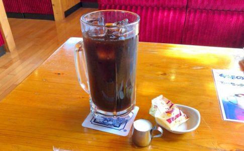 コメダ珈琲のでらたっぷりアイスコーヒー