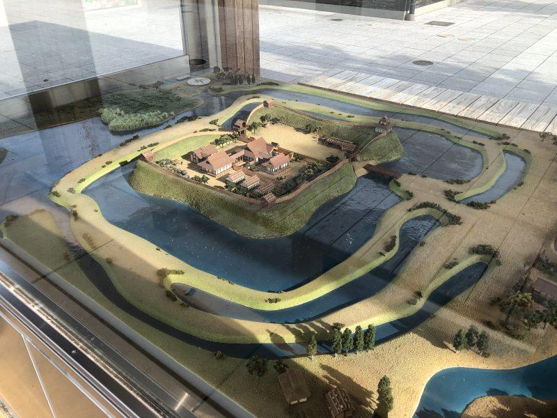 勝幡城推定復元模型