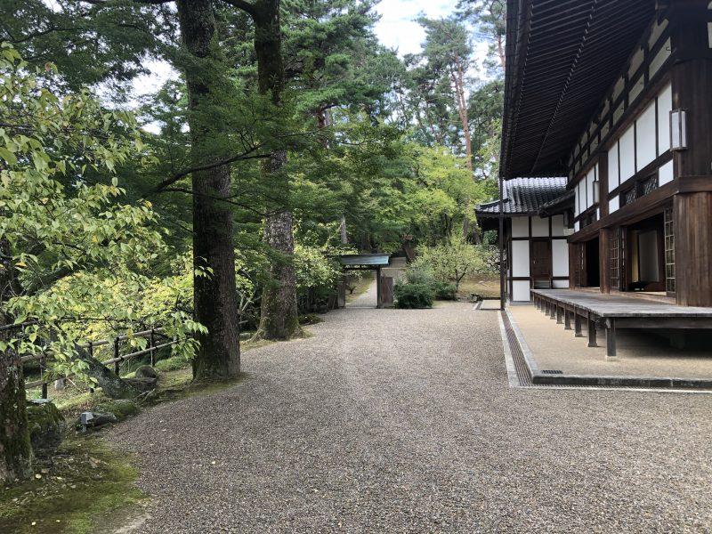 丹波亀山城・本丸入口