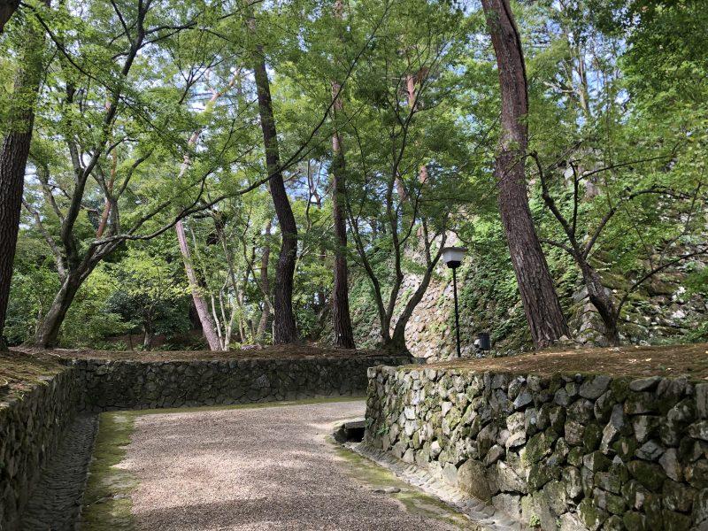 丹波亀山城・本丸跡