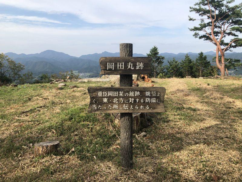 八上城・岡田丸跡