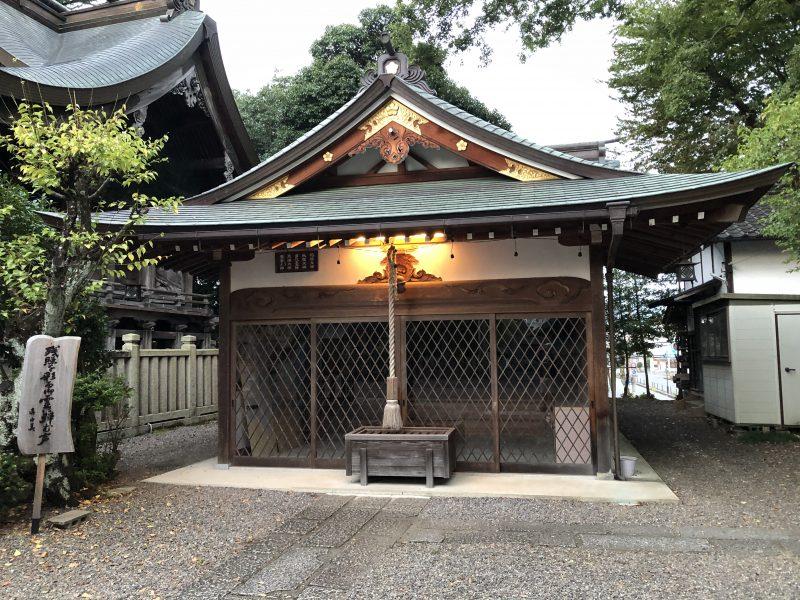 御霊神社境内の恵比寿神社