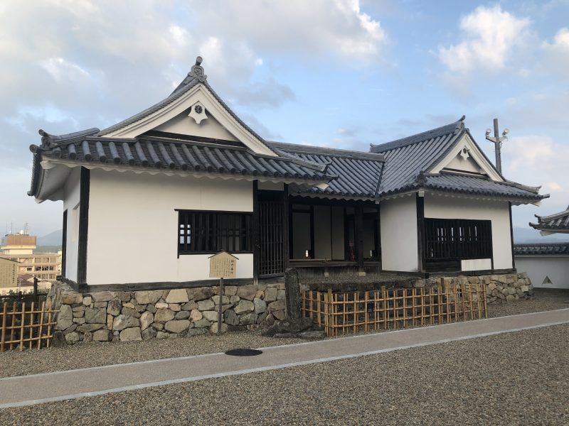 福知山城の銅門番所