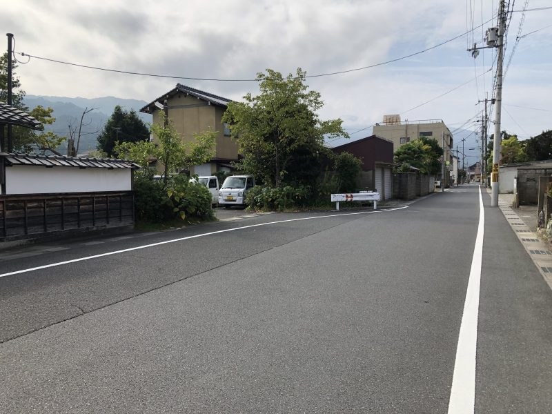大手川ふれあい広場駐車場