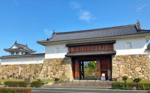 田辺城の櫓門