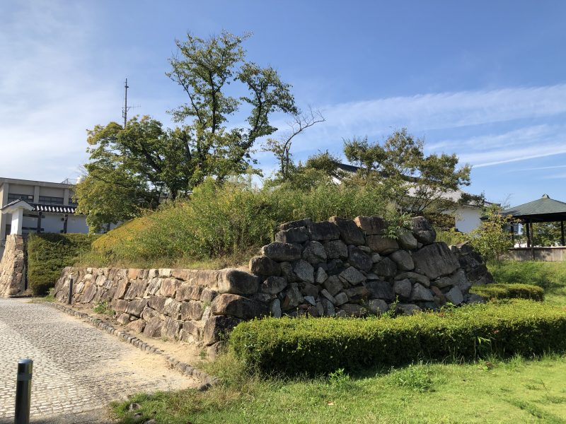 田辺城天守台
