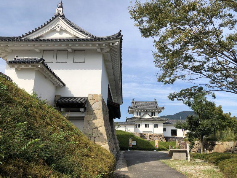 田辺城の櫓門と彰古館