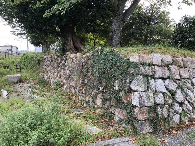 田辺城二の丸石垣