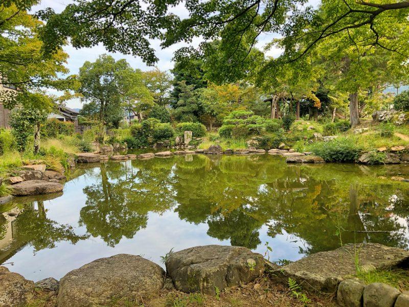 田辺城の心種園