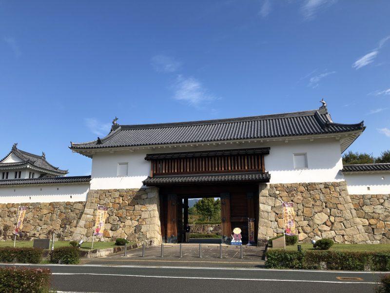 田辺城の復元城門