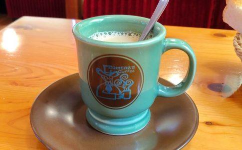 コメダ珈琲の黒みつミルクコーヒー